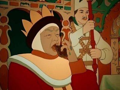 «Чего тебе надобно, старче?» (...) «Не печалься, ступай себе с богом! Добро! будет старуха царицей!»